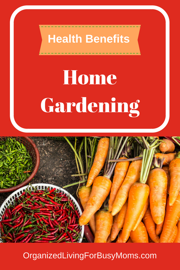 benefits of home gardening