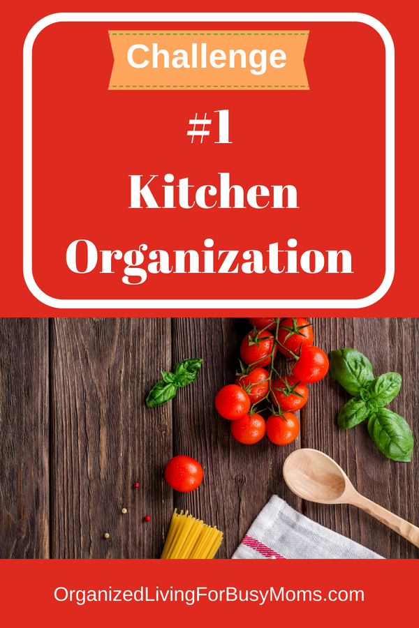 kitchen organization challenge