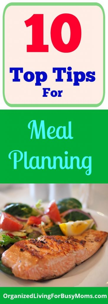 Ten Necessary Tips for Meal Planning